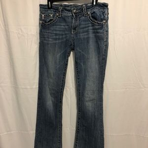 Miss Me Jeans - GUC Size 31/12 Miss Me Bootcut Jeans